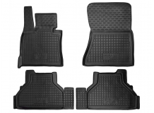 Коврики в салон BMW X5 (E70) /2007-2013/. Резиновые коврики салона БМВ X5 [Avto-Gumm]