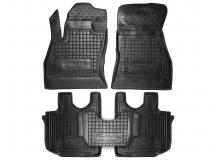 Коврики в салон Fiat 500L /2012+/. Резиновые коврики салона Фиат 500Л [Avto-Gumm]