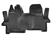 Коврики в салон Ford Transit VII /2013+, 1+2/. Резиновые коврики салона Форд Транзит [Avto-Gumm]