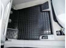 Коврики в салон Hyundai Accent III (MC) /2006-2010/. Резиновые коврики салона Хюндай Акцент [Avto-Gumm]