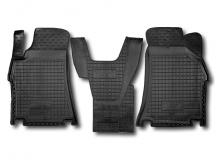 Коврики в салон Hyundai H1 II /1+1 передние, 2007+/. Резиновые коврики салона Хюндай Н1 [Avto-Gumm]