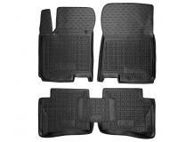 Коврики в салон Hyundai i20 II /2014+/. Резиновые коврики салона Хюндай i20 [Avto-Gumm]