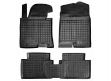 Коврики в салон Hyundai i30 II /2012-2016/. Резиновые коврики салона Хюндай i30 [Avto-Gumm]
