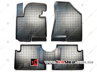 Коврики в салон Hyundai ix35 /2009+/. Резиновые коврики салона Хюндай ix35 [Avto-Gumm]