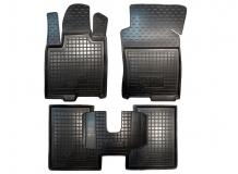 Коврики в салон Lancia Ypsilon III /2011+/. Резиновые коврики салона Лянча Ипсилон [Avto-Gumm]