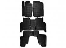 Коврики в салон Mercedes GL (X166) /2012+/. Резиновые коврики салона Мерседес ГЛ-класс [Avto-Gumm]