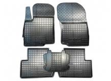 Коврики в салон Mitsubishi Outlander III /2012+/. Резиновые коврики салона Мицубиси Аутлендер [Avto-Gumm]