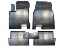 Коврики в салон Nissan Qashqai II /2014+/. Резиновые коврики салона Ниссан Кашкай [Avto-Gumm]