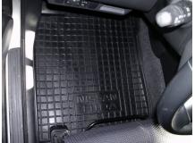 Коврики в салон Nissan Tiida C11 /2004+/. Резиновые коврики салона Ниссан Тиида [Avto-Gumm]