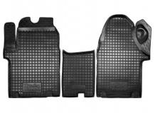 Коврики в салон Opel Vivaro I /2001-2014/. Резиновые коврики салона Опель Виваро [Avto-Gumm]