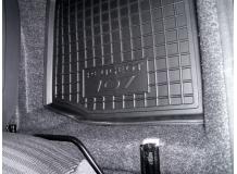 Коврики в салон Peugeot 107 /2005+/. Резиновые коврики салона Пежо 107 [Avto-Gumm]