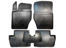 Коврики в салон Peugeot 308 I /2007-2013/. Резиновые коврики салона Пежо 308 [Avto-Gumm]