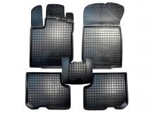Коврики в салон Renault Logan II /2013+/. Резиновые коврики салона Рено Логан [Avto-Gumm]