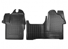 Коврики в салон Renault Master III /2010+/. Резиновые коврики салона Рено Мастер [Avto-Gumm]