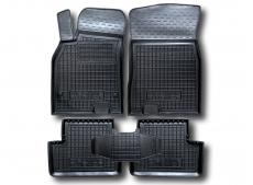 Коврики в салон Renault Megane III /2008-2015, Хэтчбек/. Резиновые коврики салона Рено Меган [Avto-Gumm]