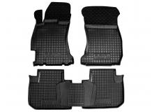 Коврики в салон Subaru Forester IV /2012+/. Резиновые коврики салона Субару Форестер [Avto-Gumm]