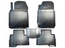 Коврики в салон Suzuki Grand Vitara II /2005-2015/. Резиновые коврики салона Сузуки Гранд Витара [Avto-Gumm]