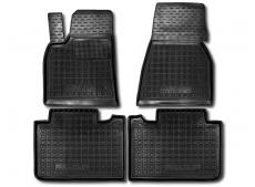 Коврики в салон Tesla Model S /2012+/. Резиновые коврики салона Тесла Модел S [Avto-Gumm]