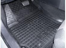 Коврики в салон Toyota Auris II (E18) /2012+/. Резиновые коврики салона Тойота Аурис [Avto-Gumm]