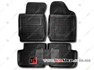 Коврики в салон Toyota Corolla IX (E120) /2000-2006/. Резиновые коврики салона Тойота Королла [Avto-Gumm]