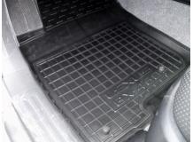 Коврики в салон Toyota LC Prado 150 /2009+/. Резиновые коврики салона Тойота Прадо 150 [Avto-Gumm]