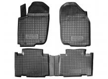 Коврики в салон Toyota RAV4 IV /2012-2015/. Резиновые коврики салона Тойота РАВ4 [Avto-Gumm]