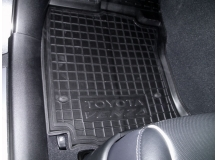 Коврики в салон Toyota Venza /2008+/. Резиновые коврики салона Тойота Венза [Avto-Gumm]