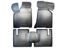 Коврики в салон VAZ 2110 Lada /1996-2013/. Резиновые коврики салона ВАЗ 2110 Лада [Avto-Gumm]