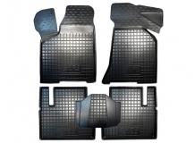 Коврики в салон VAZ 2112 Lada /2000-2013/. Резиновые коврики салона ВАЗ 2112 Лада [Avto-Gumm]