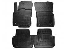 Коврики в салон Volkswagen Tiguan II /2016+/. Резиновые коврики салона Фольксваген Тигуан [Avto-Gumm]