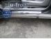 Накладки на пороги Chery Tiggo T11 /2006+/. Накладки порогов Чери Тигго [Alu-Frost]