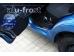 Накладки на пороги Chevrolet Aveo I (T200/T250) /2002-2011, Седан, Хэтчбек/. Накладки порогов Шевроле Авео [Alu-Frost]