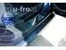 Накладки на пороги Chevrolet Epica /2006-2012/. Накладки порогов Шевроле Эпика [Alu-Frost]