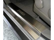 Накладки на пороги Chevrolet Evanda /2000-2006/. Накладки порогов Шевроле Эванда [NataNiko]