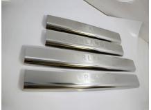 Накладки на пороги Chevrolet Orlando /2010+/. Накладки порогов Шевроле Орландо [NataNiko]