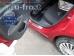 Накладки на пороги Citroen C4 I /5D, 2004-2010/. Накладки порогов Ситроен С4 [Alu-Frost]