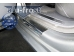 Накладки на пороги Citroen DS5 /2011+/. Накладки порогов Ситроен ДС5 [Alu-Frost]