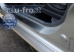 Накладки на пороги Daewoo Matiz /1997+/. Накладки порогов Деу Матиз [Alu-Frost]