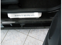Накладки на пороги Daihatsu Materia /1997+/. Накладки порогов Дайхатсу Материа [NataNiko]