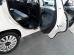 Накладки на пороги Fiat 500L /2012+/. Накладки порогов Фиат 500Л [Alu-Frost]