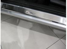 Накладки на пороги Fiat Punto II (188) /Хэтчбек, 1999-2007/. Накладки порогов Фиат Пунто [NataNiko]