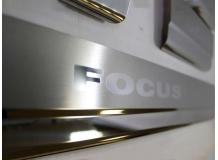 Накладки на пороги Ford Focus II /2004-2011/. Накладки порогов Форд Фокус [NataNiko]