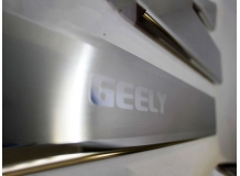Накладки на пороги Geely Emgrand X7 /2013+/. Накладки порогов Джили Эмгранд Х7 [NataNiko]