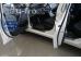 Накладки на пороги Hyundai Elantra MD /2010-2015/. Накладки порогов Хюндай Элантра [Alu-Frost]
