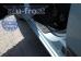 Накладки на пороги Hyundai Getz /3D, 2002-2011/. Накладки порогов Хюндай Гетц [Alu-Frost]