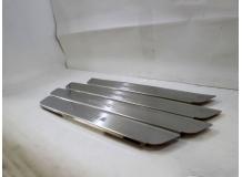 Накладки на пороги Hyundai Grand SantaFe III /2012+/. Накладки порогов Хюндай СантаФе [NataNiko]
