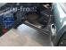 Накладки на пороги Hyundai Tucson I /2004-2009/. Накладки порогов Хюндай Туксон [Alu-Frost]