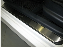 Накладки на пороги Hyundai i30 I /2007-2012/. Накладки порогов Хюндай i30 [NataNiko]
