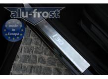 Накладки на пороги Hyundai i30 II /2012+/. Накладки порогов Хюндай i30 [Alu-Frost]