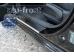 Накладки на пороги Hyundai i30 II /2012-2016/. Накладки порогов Хюндай i30 [Alu-Frost]